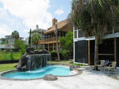 VacationsFRBO Isle of Palms Vacation Rentals Property ID 16692 Cozy Beach House heated pool waterfall