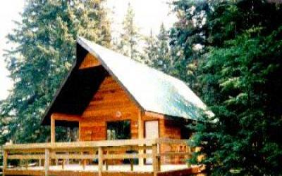 VacationsFRBO Drumheller Vacation Rentals Property ID 17918 Ghost Pine Cabin