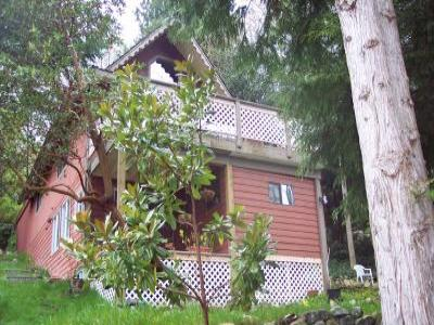 VacationsFRBO Sunshine Coast Vacation Rentals Property ID 18120 Arbutus Hill Chalet