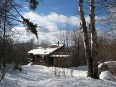 VacationsFRBO Killington Vacation Rentals Property ID 21286 Lake Ninevah Log House near Killington