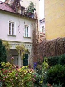 VacationsFRBO Prague Vacation Rentals Property ID 23528 Garden Apartment Tynska