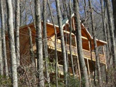 VacationsFRBO Cherrylog Vacation Rentals Property ID 24040 Sunset Mountain View Cabin