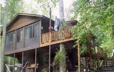 VacationsFRBO Blairsville Vacation Rentals Property ID 28786 Peaceful Creek Cabin: Blairsville Rental