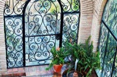 VacationsFRBO Jimena De La Frontera Vacation Rentals Property ID 33401 Courtyard