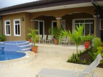 VacationsFRBO Jaco Vacation Rentals Property ID 37683 Bejuco Beach Home: Pool: Tennis and Beach!
