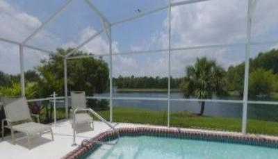 VacationsFRBO Kissimmee Vacation Rentals Property ID 37708 MyDisneyFlorida ~Waterfront Private Pool