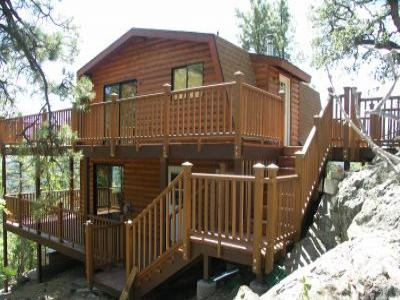VacationsFRBO Prescott Vacation Rentals Property ID 65803 Log Cabin Spruce Mountain Top