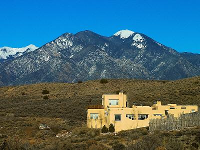 VacationsFRBO Taos Vacation Rentals Property ID 80145 Casa del Arroyo Taos